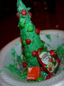 Christmas Tree Cookie Waffle Cone Christmas Decoration